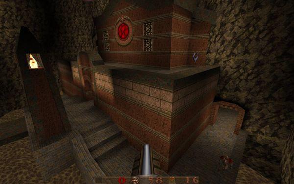 A castle in Quake 1